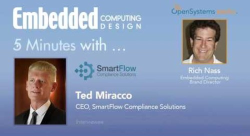Five Minutes With… Ted Miracco, CEO, SmartFlow Compliance Solutions