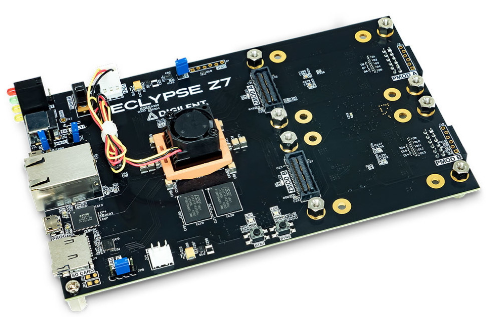 A circuit boardDescription automatically generated