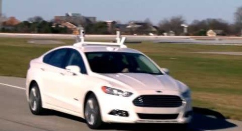 Automated Ford Fusion Hybrid Research Vehicle