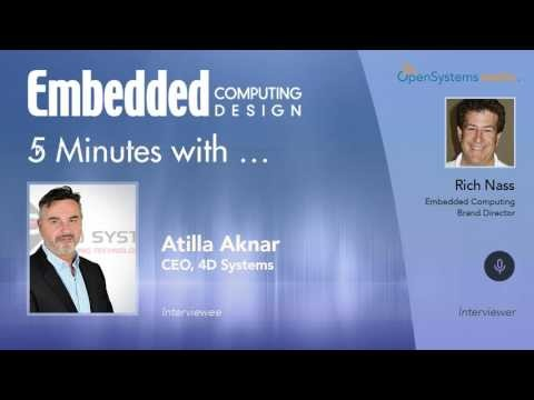 Five Minutes With…Atilla Aknar, CEO, 4D Systems