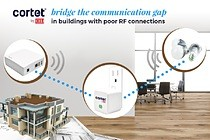 The new Cortet Z10 Range Extender is a reliable, secure, and easy to install way to extend the range and capacity of a zigbee network within large facilities or facilities with a poor RF environment.