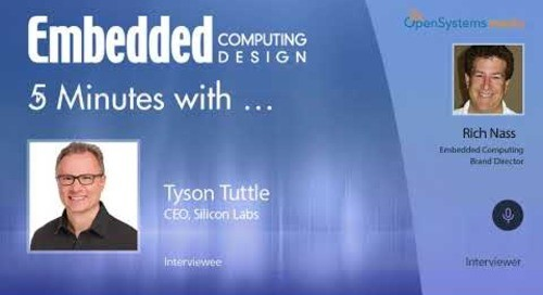 Five Minutes With… Tyson Tuttle, CEO, Silicon Labs