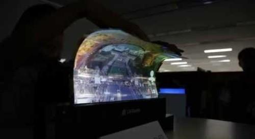 18-inch Flexible OLED Panel