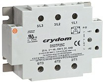 new solid- state relay designs with integrated thermostats prevent overheating, protecting component and system operation from potential damage or shut down.