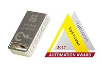 CmStick/BMC, the world's smallest USB dongle with flash memory, is one of the five nominees for the 2017 Automation Awards.