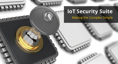 SAMA5D2 microprocessor family takes the lead in IoT security