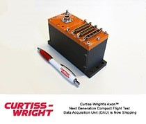 Curtiss-Wright\'s Axon(tm) Next Generation Compact Flight Test Data Acquisition Unit (DAU) is Now Shipping
