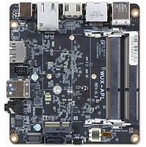Portwell WUX-3455: A mini PC board featuring Intel Celeron processor J3455, 8GB DDR3L SDRAM, 6x USB, SATA III, microSD, M.2 and enhanced graphics performance