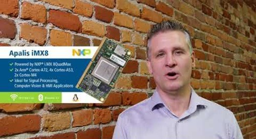 Toradex News 1/18 - Embedded World, iMX8 Early Access, iMX6ULL, and more