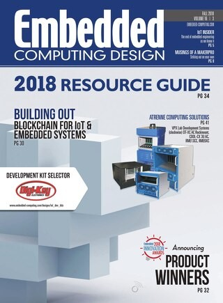 Embedded Computing Design Fall 2018 with Resource Guide