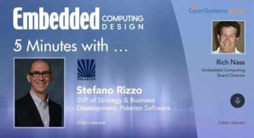 Five Minutes With? Stefano Rizzo, SVP of Strategy and Business Development, Polarion Software