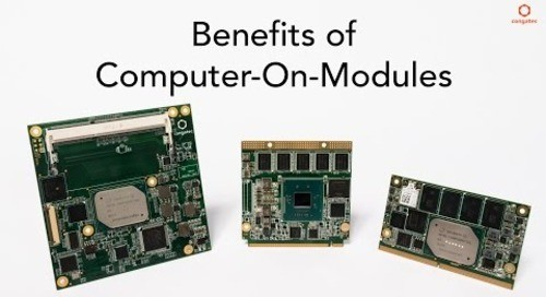 Benefits of Computer-On-Modules