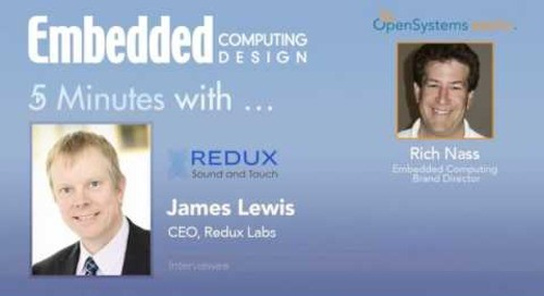 Five Minutes With… James Lewis, CEO, Redux Labs