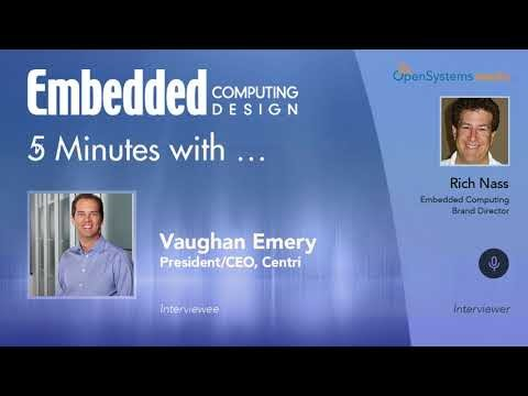 Five Minutes With…Vaughan Emery, President/CEO, Centri