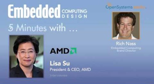 Five Minutes With…Lisa Su, President and CEO, AMD