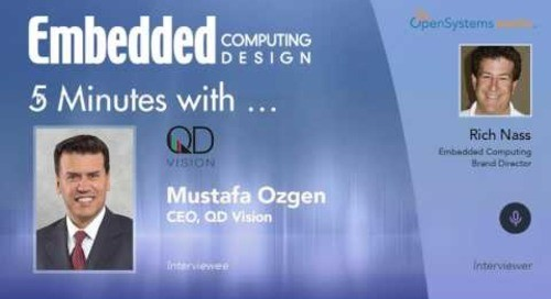 Five Minutes With… Mustafa Ozgen, CEO, QD Vision