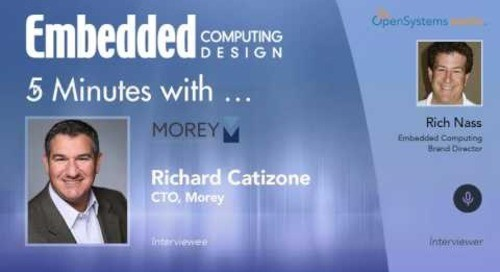 Five Minutes With…Richard Catizone, CTO, Morey