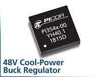 New PI354x Cool-Power ZVS Buck Regulator