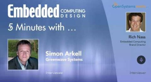 Five Minutes With…Simon Arkell, Greenwave Systems