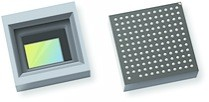 OmniVision, Texas Instruments and Leopard Imaging collaborated on the automotive industry?s first HD camera module to fit all its components on a single PCB, including the OmniVision OX01B40 image sensor plus image signal processor system-in-package that is shown here.