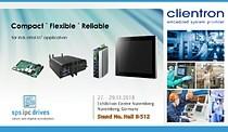 Clientron at SPS IPC Drives