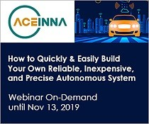 Webinar For Developers of Drones, Robots and AGVs  - How to Quickly & Easily Build Your Own Reliable, Inexpensive, and Precise Autonomous System