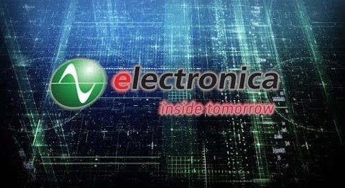 IIoT Tech Talks at electronica 2018