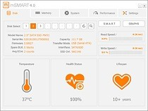 With powerful functions and free download, MEMXPRO mSMART 4.0 storage device monitoring tool is convenient and easy to use.