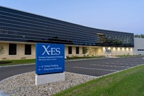 Front view of all-new X-ES headquarters