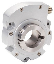 Compact rotary encoders like Sensata?s LP Series (left image) are certified for use in Class 1 Division 1 environments, where they provide an intrinsically safe solution for speed control on top drives