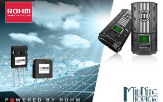 ROHM SiC MOSFETs Solve Design Challenges for Leading Solar Energy Company Midnite Solar