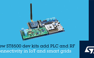 STMicroelectronics Drives G3-PLC Hybrid Connectivity into Smart Devices with ST8500 Development Ecosystem