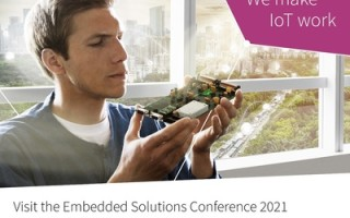 Infineon Showcases its Comprehensive Portfolio at virtual Embedded Solutions Conference 2021