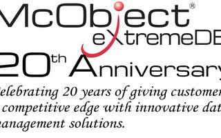 McObject Celebrating 20 Years, 30 million Deployments
