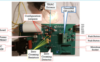 GreenPAK AC-Power Cycle Skip Control with System Monitoring