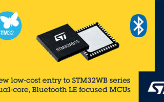 New STM32WB Wireless Microcontrollers from STMicroelectronics Deliver Affordable Convenience and Performance