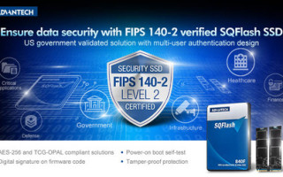 Advantech Launches the FIPS 140-2 Certified SQF920F/840F Series with Leading Multi-user Authentication Security Solution