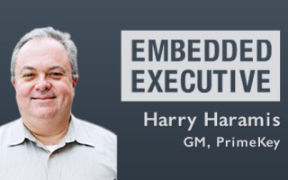 Embedded Executive: Harry Haramis, GM, PrimeKey