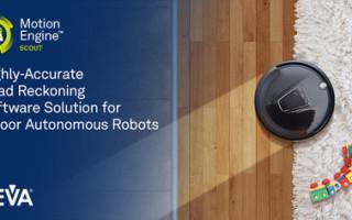 CEVA Unveils MotionEngine Scout, a Dead Reckoning Software Solution for Indoor Autonomous Robots