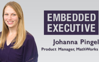 Embedded Executive: Johanna Pingel, Product Manager, MathWorks