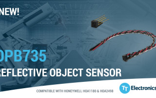 New Non-Contact Reflective Object Sensor by TT Electronics Offers Reliable and Consistent Sensing Performance