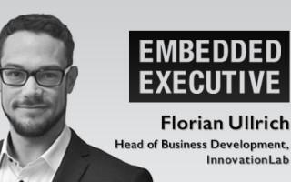 Embedded Executive: Florian Ullrich, Head of Business Development, InnovationLab