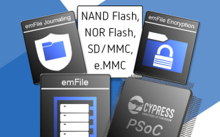 Cypress Extends Licensing of SEGGER's Embedded File System emFile to Include PSoC 6