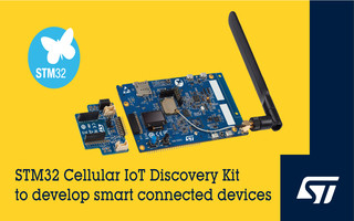 STMicroelectronics Releases B-L462E-CELL1 Discovery Kit