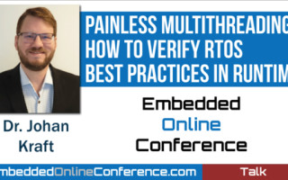 Percepio Presents Multithreading Talk at the Embedded Online Conference