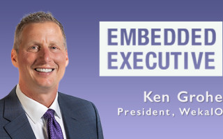 Embedded Executive: Ken Grohe, President, WekaIO