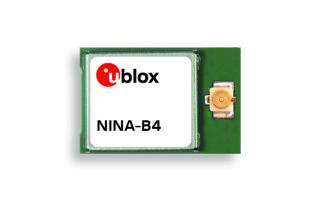 u-blox NINA-B4 Bluetooth 5.1 Module Enables Mesh Networking for IoT Applications