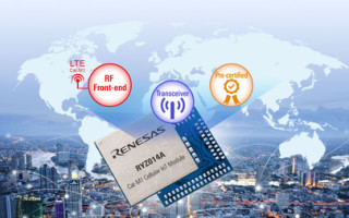 Renesas Launches LTE CAT-M1 Module For IoT Based On Monarch Technology From Sequans