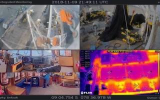 Vision System Monitors Fishing Vessels at Sea