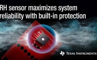 TI Announces New Humidity Sensors